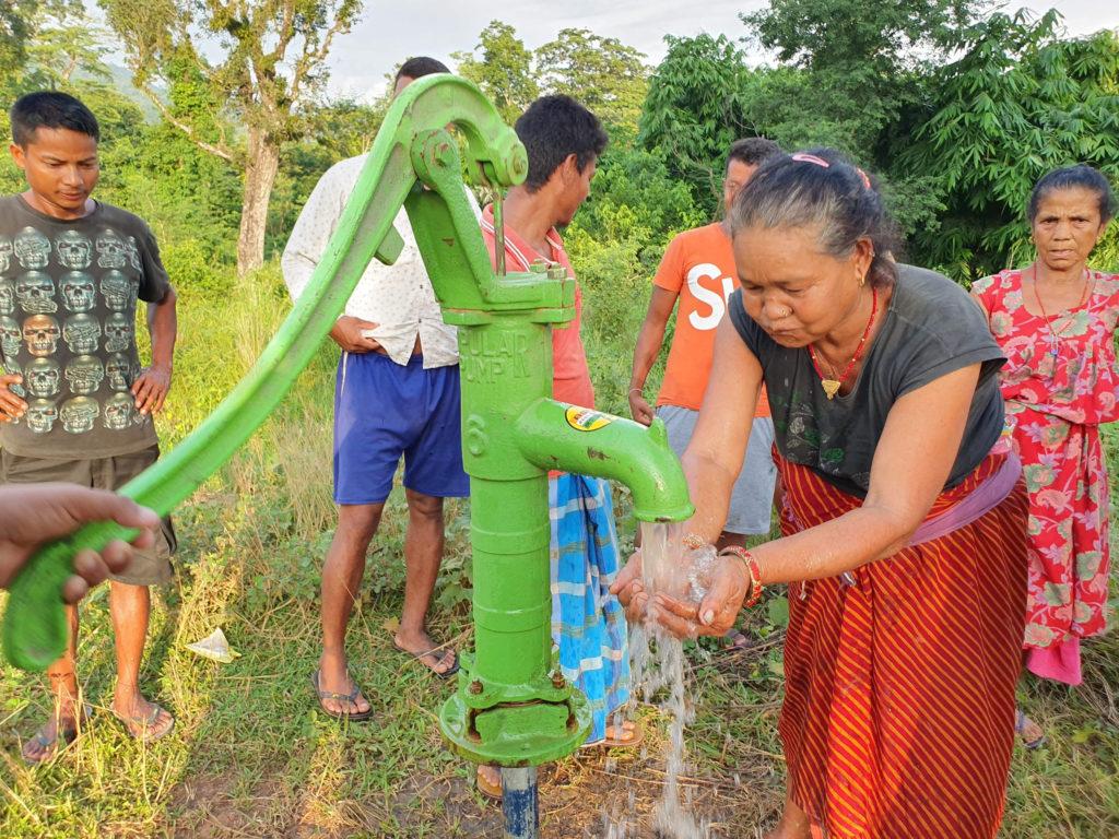 Waterpomp in Nepal