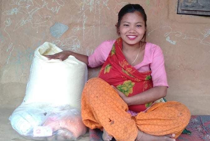 Noodhulp in Nepal